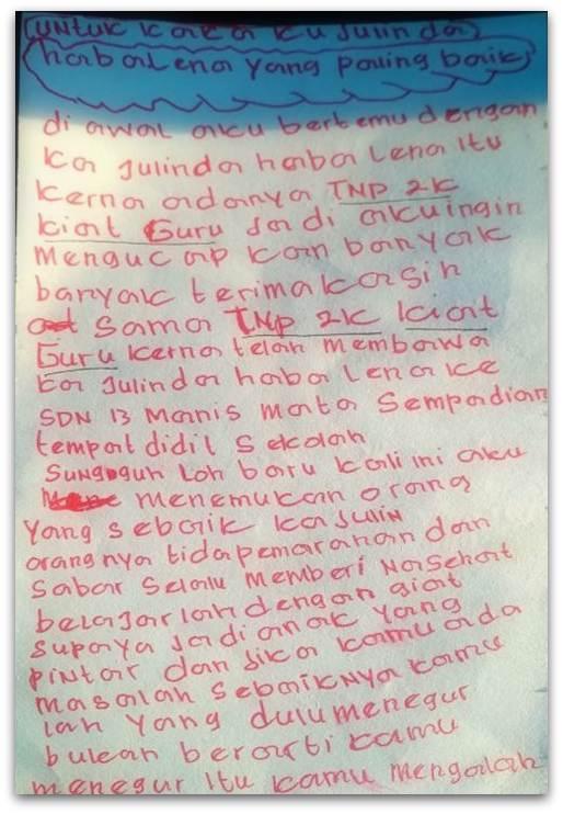Surat Cinta Dari Sempadian Batukarinfo