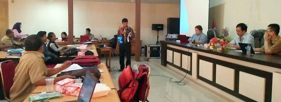 Para Pengawas Pendidikan Kabupaten Ketapang Belajar Verifikasi Kiat Nilai Batukarinfo